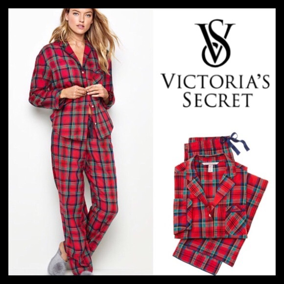 Victoria/'s Secret Flannel Pyjama Set BNWT